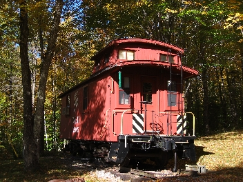 Caboose Fall End Shot