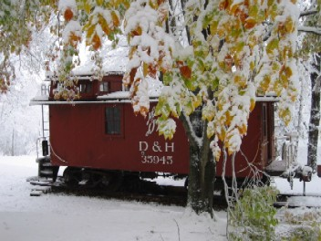 October 26th 2005 Snow